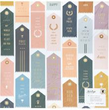Maggie Holmes Heritage Double-Sided Foiled Cardstock 12X12 - Trophies