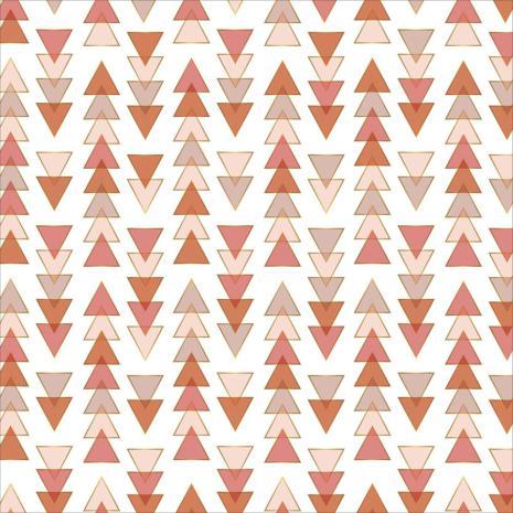 Pink Paislee Vellum 12X12 - Again & Again