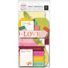Paige Evans Journaling Spots Die-Cuts 25/Pkg - Truly Grateful