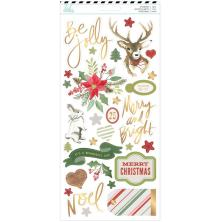 Heidi Swapp Cardstock Stickers 93/Pkg - Winter Wonderland
