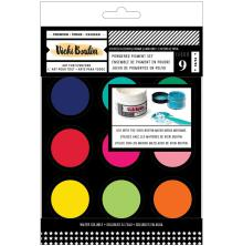 Vicki Boutin Mixed Media Powder Pigment Set 9/Pkg - Assorted Colors