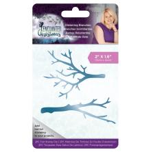 Sara Davies Enchanted Christmas Foil Stamp Die - Glistening Branches