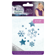Sara Davies Enchanted Christmas Foil Stamp Die - Night Sky