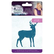 Sara Davies Enchanted Christmas Metal Die - Arctic Deer
