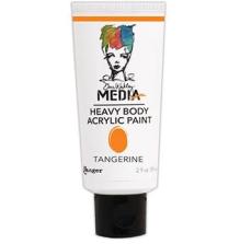 Dina Wakley Media Heavy Body Acrylic Paint 59ml - Tangerine