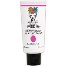 Dina Wakley Media Heavy Body Acrylic Paint 59ml - Magenta