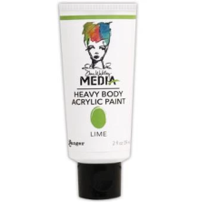 Dina Wakley Media Heavy Body Acrylic Paint 59ml - Lime