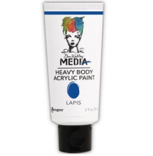 Dina Wakley Media Heavy Body Acrylic Paint 59ml - Lapis