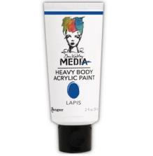 Dina Wakley Media Heavy Body Acrylic Paint 59ml - Lapis