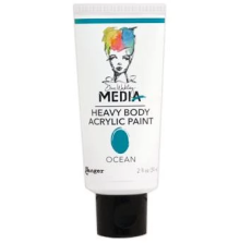 Dina Wakley Media Heavy Body Acrylic Paint 59ml - Ocean