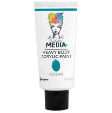 Dina Wakley Media Heavy Body Acrylic Paint 59ml - Ocean