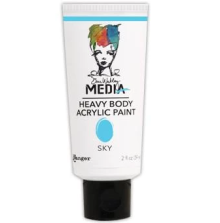 Dina Wakley Media Heavy Body Acrylic Paint 59ml - Sky