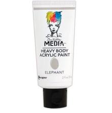 Dina Wakley Media Heavy Body Acrylic Paint 59ml - Elephant