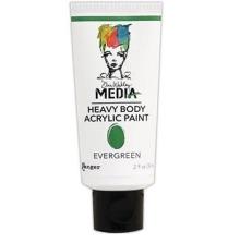 Dina Wakley Media Heavy Body Acrylic Paint 59ml - Evergreen