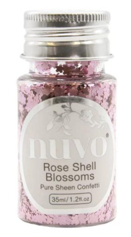 Tonic Studios Nuvo Pure Sheen Confetti 35ml - Rose Shell Blossoms 1071N