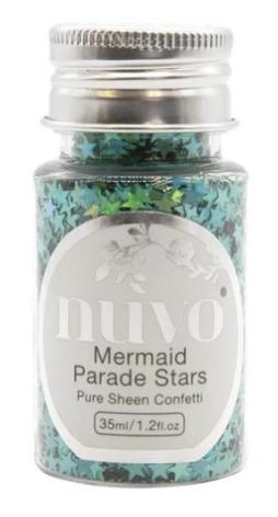 Tonic Studios Nuvo Pure Sheen Confetti 35ml - Mermaid Parade Stars 1072N