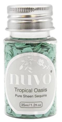 Tonic Studios Nuvo Pure Sheen Sequins 35ml - Tropical Oasis 1147N