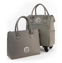 Tonic Studios Luxury Storage Handbag & Roller Set - Windsor Grey 2999E