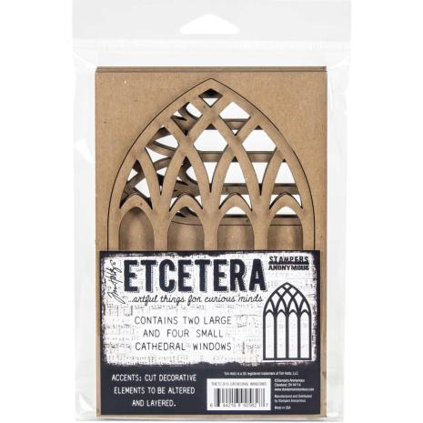 Tim Holtz Etcetera Cathedral Windows