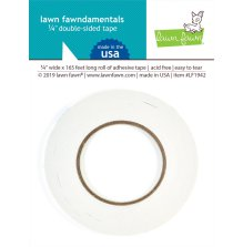 Lawn Fawn double-sided tape ca 50meter - 1/4inch