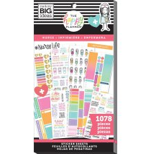Me & My Big Ideas Happy Planner Sticker Value Pack - Nurse