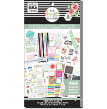 Me & My Big Ideas Happy Planner Sticker Value Pack - Horizontal