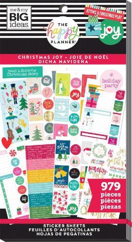 Me & My Big Ideas Happy Planner Sticker Value Pack - Christmas Joy