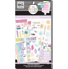 Me & My Big Ideas Happy Planner Sticker Value Pack - Watercolor Goals