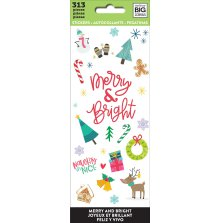 Me & My Big Ideas Stickers 313/Pkg - Merry & Bright