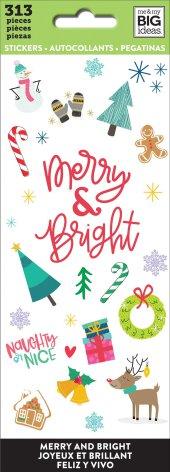 Me & My Big Ideas Stickers 313/Pkg - Merry & Bright