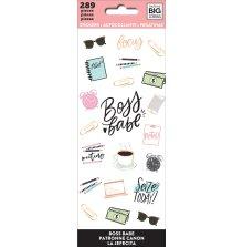 Me & My Big Ideas Stickers 289/Pkg - Boss Babe
