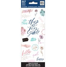 Me & My Big Ideas Stickers 217/Pkg - Year to Shine