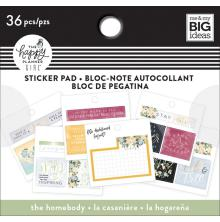 Me & My Big Ideas Happy Planner Tiny Sticker Pad - Homebody