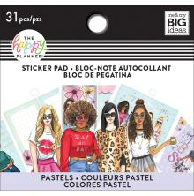 Me & My Big Ideas Happy Planner Tiny Sticker Pad - Rongrong Pastel