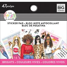 Me & My Big Ideas Happy Planner Tiny Sticker Pad - Rongrong Brights
