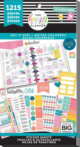 Me & My Big Ideas Happy Planner Sticker Value Pack - Boss Babe