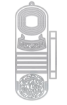 Tonic Studios Dimensions Die Set - Bouquet & Banners Wonderfall 2159E