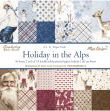 Maja Design 6x6 Paper Pack - Holiday in the Alps