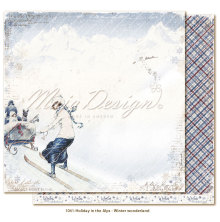 Maja Design Holiday in the Alps 12X12 - Winter wonderland