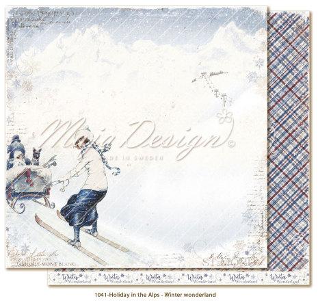 Maja Design Holiday in the Alps 12X12 - Winter wonderland
