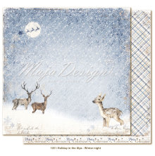 Maja Design Holiday in the Alps 12X12 - Winter night
