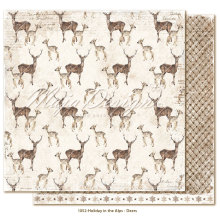Maja Design Holiday in the Alps 12X12 - Deers