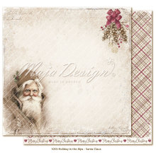 Maja Design Holiday in the Alps 12X12 - Santa Claus