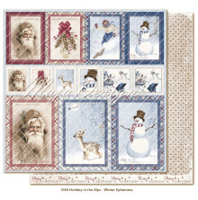 Maja Design Holiday in the Alps 12X12 - Winter Ephemera