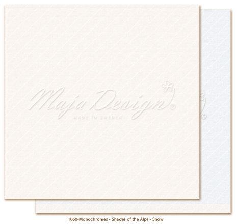 Maja Design Monochromes 12X12 Shades of the Alps - Snow