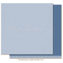 Maja Design Monochromes 12X12 Shades of the Alps - Frost