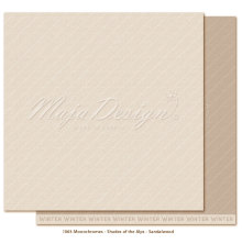 Maja Design Monochromes 12X12 Shades of the Alps - Sandalwood