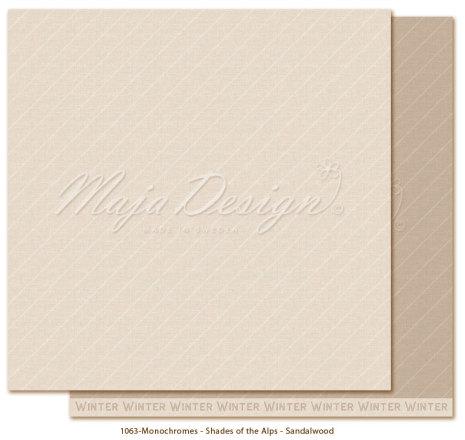 Maja Design Monochromes 12X12 Shades of the Alps - Sandalwood