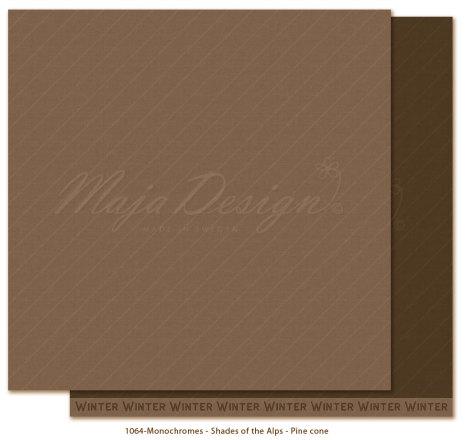 Maja Design Monochromes 12X12 Shades of the Alps - Pine cone