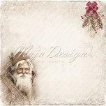 Maja Design Holiday in the Alps 12X12 - Santa Claus
